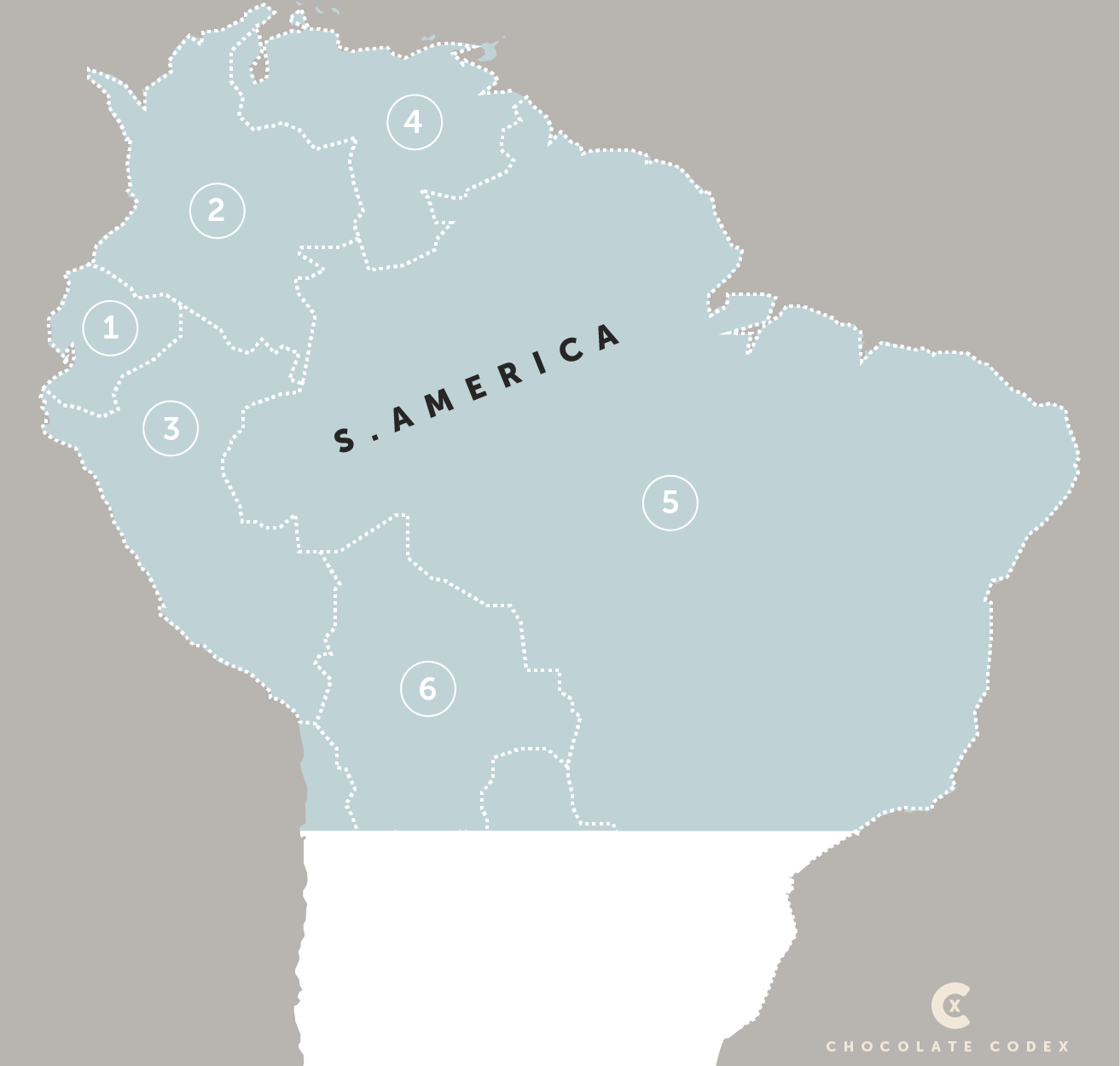 Chocolate-Codex-Countries-of-Origin-Cacao-North-Central-America
