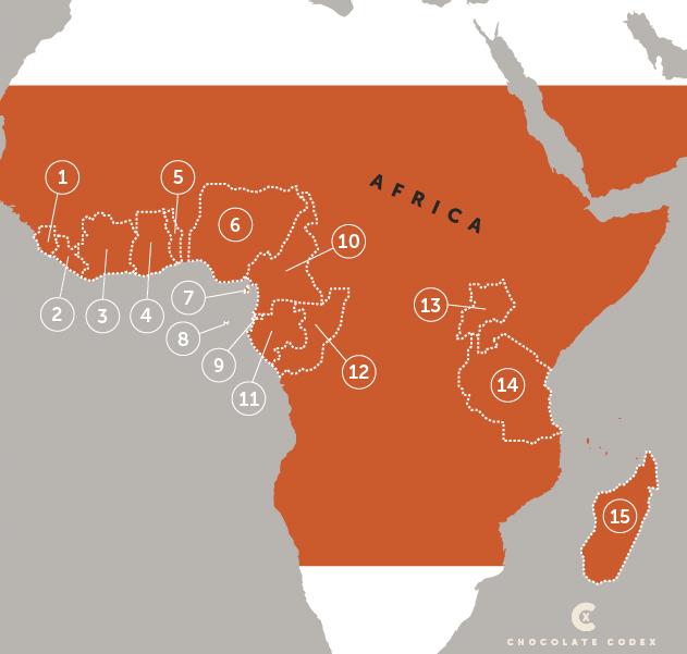 Chocolate-Codex-Countries-of-Origin-Africa