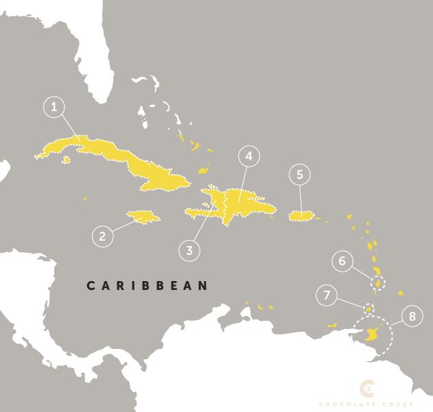 Chocolate-Codex-Countries-Origin-Cacao-Producing-Caribbean