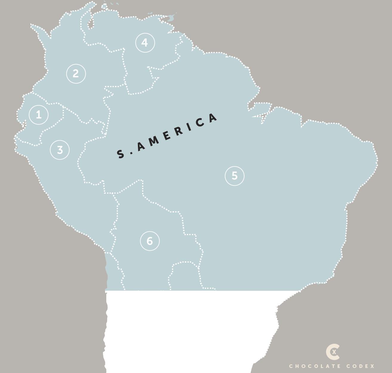 Chocolate-Codex-Countries-of-Origin-Cacao-North-Central-America